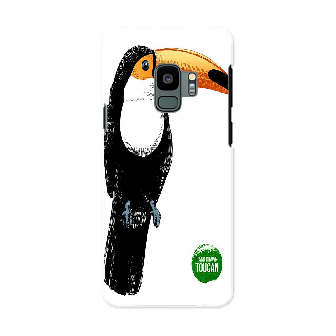 SC-02K Galaxy S9 ギャラクシー エスナイン docomo sc02k ドコモ スマホ カバー ケース スマホケース スマホカバー PC ハードケース 014486 鳥 動物 アニマル