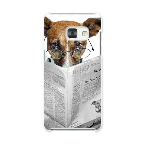 SC-04J Galaxy Feel ギャラクシー フィール sc04j docomo ドコモ スマホ カバー スマホケース スマホカバー PC ハードケース 写真 犬 いぬ 新聞 アニマル 007706