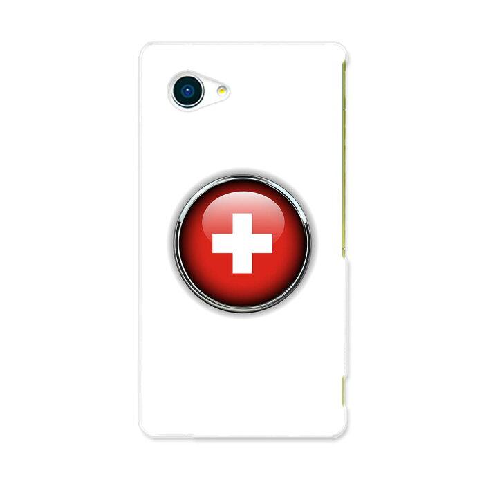 503SH AQUOS Xx2 mini アクオスフォン softbank ソフトバンク スマホ カバー スマホケース ハード pc ケース ハードケース スイス 国旗 マーク ユニーク その他 000263