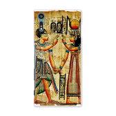 【2個以上送料無料】スマホ カバー 全機種対応 あり SOV34 ケース スマホケース スマホカバー TPU ソフトケース Xperia XZ エクスペリア XZ エジプト 壁画 写真・風景 001535 Sony ソニー au エーユー