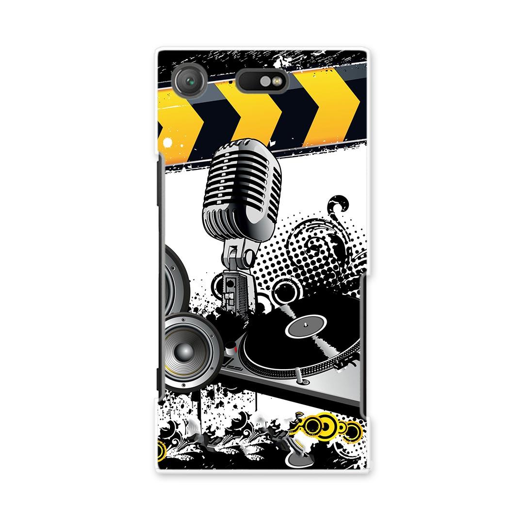 スマートフォン・携帯電話アクセサリー, ケース・カバー SO-02K XPERIA XZ1 Compact so02k docomo PC DJ HIPHOP 000027