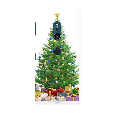 702SO XPERIA XZ2 エクスペリア エックスゼットツー 702so softbank ソフトバンク スマホ カバー 全機種対応 あり ケース スマホケース スマホカバー TPU ソフトケース 009987 クリスマス ツリー プレゼント