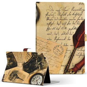 AT374 TOSHIBA 東芝 REGZA Tablet レグザタブレット at374 Sサイズ 手帳型 タブレットケース カバー 全機種対応有り レザー フリップ ダイアリー 二つ折り 革 ラブリー 写真 手紙 英語 文字 005952