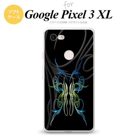 Google Pixel 3 XL ピクセル 3 XL 専用 スマホケース カバー ソフトケース ピンスト 黒×グラデ2 nk-px3x-tp1239[スマホ,スマホケース,スマホカバー,ケース,カバー,ジャケット]