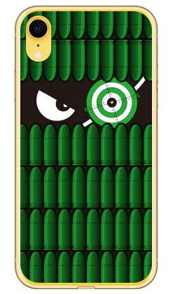 【送料無料】 スナイパーくん グリーン (ソフトTPUクリア) / for iPhone XR/Apple 【YESNO】【ソフトケース】iphoneXR ケース iphoneXR カバー iphone XR ケース iphone XR カバーアイフォーン10R ケース アイフォーン10R カバー 10R ケース アイフォーン10R