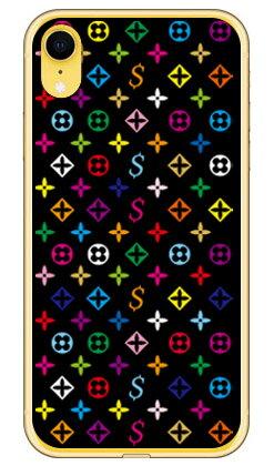 【送料無料】 Monogram ブラック (ソフトTPUクリア) design by ROTM / for iPhone XR/Apple 【SECOND SKIN】iphoneXR ケース iphoneXR カバー iphone XR ケース iphone XR カバーアイフォーン10R ケース アイフォーン10R カバー 10R ケース アイフォーン10R