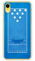 【送料無料】 ボウリングレーンブルー (クリア) / for iPhone XR/Apple 【Coverfull】【ハードケース】iphoneXR ケース iphoneXR カバー iphone XR ケース iphone XR カバーアイフォーン10R ケース アイフォーン10R カバー 10R ケース アイフォーン10R