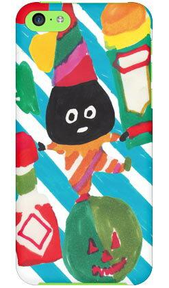 【送料無料】 青いアボカド designed by 多田玲子 / for iPhone 5c/au 【SECOND SKIN】【スマホケース】【ハードケース】iPhone5cカバー/アイフォン5c/iphone5cケース/アイフォン 5c/スマートフォン/スマホケース/ケース/エーユー/au