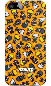 【送料無料】【光沢なし】ナルト疾風伝シリーズNARUTO×PansonWorksオールスターズ(オレンジ)(ソフトTPUクリア)/foriPhone5/au【ソフトケース】iPhone5カバー/アイフォン5/iphone5ケース/アイフォン5/スマートフォン/スマホケース/ケース/エーユー