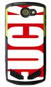 【送料無料】 Cf LTD FUCK(ファック) 大 レッド (クリア) / for TORQUE G02/au 【Coverfull】torque g02 ケース torque g02 カバー g02ケース g02カバー トルク g02 ケース トルク g02 カバー 京セラ トルク au torque g02 au トルク ケース au