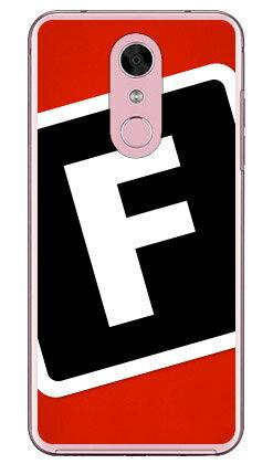【送料無料】 Cf LTD キャンプ イニシャル レッド×ブラック F (クリア) / for Disney Mobile on docomo DM-01K/docomo 【Coverfull】dm-01k ケース ディズニー dm-01k カバー ディズニー dm-01k スマホケース dm-01k スマホカバー dm01k ケース dm01k
