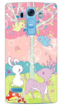 【送料無料】Milk'sDesignしらくらゆりこ「メルヘンな森」/forDisneyMobileondocomoDM-01G/docomo【Coverfull】ドコモdm−01gカバーdm−01gケースディズニーモバイルドコモケースdm−01gdisneymobileondocomodm-01g