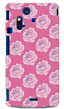 【送料無料】 ローズ バイオレッド / for Xperia acro SO-02C/docomo 【SECOND SKIN】【スマホケース】【ハードケース】xperia acro ケース カバー エクスペリア アクロ エクスぺリア Case Cover スマートフォンケース スマホケース
