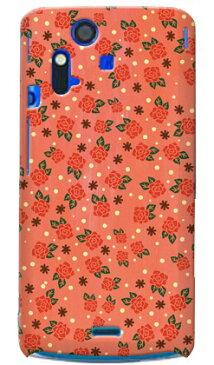 【送料無料】 ローズドット ピンク / for Xperia acro SO-02C/docomo 【Coverfull】【全面】【スマホケース】【ハードケース】xperia acro ケース カバー エクスペリア アクロ エクスぺリア Case Cover スマートフォンケース スマホケース