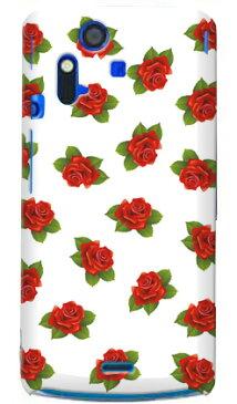 【送料無料】 uistore 「excellent rose (white)」 / for Xperia acro SO-02C/docomo 【SECOND SKIN】【ハードケース】xperia acro ケース カバー エクスペリア アクロ エクスぺリア Case Cover スマートフォンケース スマホケース