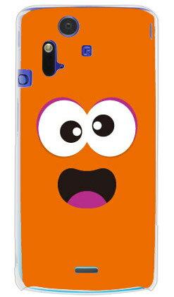 【送料無料】 ベイビーモンスター オレンジ (クリア) / for Xperia acro SO-02C/docomo 【YESNO】【スマホケース】【ハードケース】xperia acro ケース カバー エクスペリア アクロ エクスぺリア Case Cover スマートフォンケース スマホケース