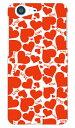 【送料無料】 Loveheart レッド produced by COLOR STAGE / for AQUOS ZETA SH-04H・SHV34・506SH・STAR WARS mobile/docomo・au・SoftBank 【Coverfull】sh-04h ケース sh-04h カバー docomo ドコモ shv34 ケース shv34 カバー au 506sh ケース 506sh カバー