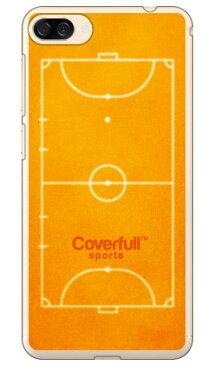 【送料無料】 フットサルコート オレンジ(クリア) / for ZenFone 4 Max ZC520KL/MVNOスマホ(SIMフリー端末) 【Coverfull】zenfone 4 max ケース zenfone 4 max カバー ZC520KL ケース ZC520KL カバー ゼンフォン4マックス ケース ゼンフォン4マックス カバー