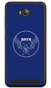 【送料無料】 R.O.T.M air force ネイビー (クリア) design by ROTM / for ZenFone Max ZC550KL/MVNOスマホ(SIMフリー端末) 【SECOND SKIN】zenfone max zc550kl ケース zenfone max zc550kl カバー zc550klケース zc550klカバー ゼンフォンマックス
