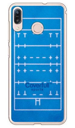 【送料無料】 ラグビーコート ブルー(クリア) / for ZenFone Max M1 ZB555KL/MVNOスマホ(SIMフリー端末) 【Coverfull】zenfone max m1 ケース zenfone max m1 カバー zb555kl ケース zb555kl カバー ゼンフォンマックスM1 ケース ゼンフォンマックスM1 カバー
