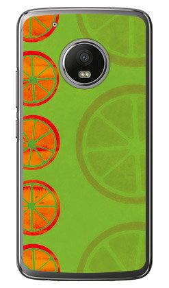 【送料無料】 オレンジフルーツ グリーン (クリア) / for Moto G5 Plus XT1685/MVNOスマホ(SIMフリー端末) 【Coverfull】moto g5 plus ケース moto g5 plus カバー motog5plus ケース motog5plus カバー モト g5 プラス ケース モト g5 プラス カバー