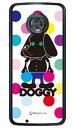 【送料無料】 Doggy マルチカラードット (クリア) design...