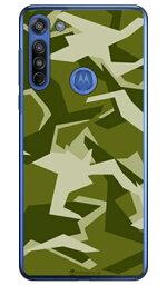 【送料無料】 URBAN camouflage グリーン (クリア) design by Moisture / for moto g8 XT2045/MVNOスマホ(SIMフリー端末) 【SECOND SKIN】【ハードケース】moto g8 ケース moto g8 カバー モトg8 ケース モトg8 カバー モトジー8 ケース モトジー8 カバー motog8