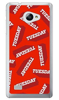 【送料無料】 TUESDAY レッド (クリア) / for VAIO Phone A VPA0511S・Biz VPB0511S/MVNOスマホ(SIMフリー端末) 【Coverfull】vaio phone a vpa0511s vaio phone a ケース vaio phone a カバー バイオフォンa ケース バイオフォンa カバー 格安 スマホ