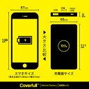 【送料無料】 家紋シリーズ モバイルバッテリー 違い山形 (ちがいやまがた) 【Coverfull】 4000mAh microUSBケーブル付き 充電器 iPhone アイフォン Android アンドロイド 2
