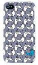 【送料無料】 blue bird ブルーグレー (クリア) design by PansonWorks / for iPhone 4S/au 【SECOND SKIN】iphone 4s ケース iphone 4s カバー iphone 4s case アイフォン4s ケース アイフォン4s カバーアイフォン4sケース アイフォン4sカバー 4s ケース