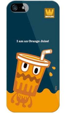【送料無料】 orange juice (ソフトTPUクリア) design by PansonWorks / for iPhone SE/5/au 【SECOND SKIN】【ソフトケース】iPhone5カバー/アイフォン5/iphone5ケース/アイフォン 5/スマートフォン/スマホケース/ケース/エーユー