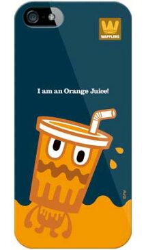 【送料無料】 orange juice (ソフトTPUクリア) design by PansonWorks / for iPhone SE/5s/docomo 【SECOND SKIN】iPhone5sカバー/アイフォン5s/iphone5sケース/アイフォン 5s/スマートフォン/スマホケース/ケース/ドコモ/docomo