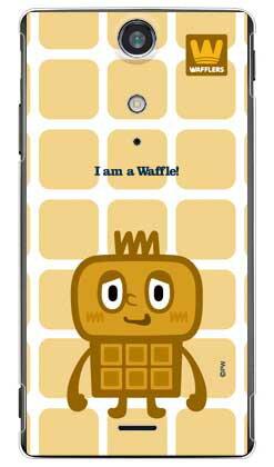 【送料無料】 waffle (クリア) design by PansonWorks / for Xperia GX SO-04D/docomo 【SECOND SKIN】xperia gx so-04d ケース xperia gx so-04d カバー xperia gx ケース xperia gx カバー so-04d ケース so-04dカバー エクスペリア gx ケース