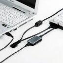 SANWA SUPPLY(サンワサプライ) IDE/SATA-USB変換ケーブル USB-CVIDE2Nドライブ 変換 アダプタ ケーブル USB変換 USB機器 接続 光学式 ドライブ シリアルハードディスク HDD ケース不要 交換 簡単 ドライバ不要 同時接続 オンオフスイッチ 安全 脱着
