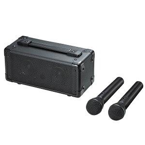 【送料無料】 SANWA SUPPLY(サンワサプライ) ワイヤレスマイク付き拡声器スピーカー MM-SPAMP7