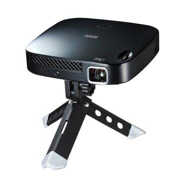 【送料無料】 SANWA SUPPLY(サンワサプライ) モバイルプロジェクター PRJ-6モバイル プロジェクター モバイルプロジェクター スマホ スマートフォン HDMI 高輝度 高画質 小型 プロジェクタ バッテリー内蔵 持ち運び 軽量 iphone ipad 明るさ 自動調節 高画質 台形補正
