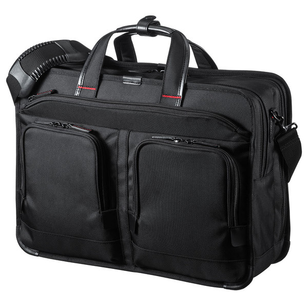 【送料無料】 SANWA SUPPLY(サンワサプライ) エグゼクティブビジネスバッグPRO(大型ダブル) BAG-EXE9軽量 充実 機能 高級感 ハイエンド ビジネスバッグ ビジネスリュック 社会人 仕事 営業 PCバッグ 持ち運び