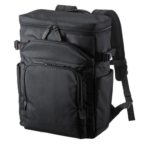 【送料無料】 SANWA SUPPLY(サンワサプライ) エグゼクティブビジネスリュック BAG-EXE10軽量 充実 機能 高級感 ハイエンド ビジネスバッグ ビジネスリュック 社会人 仕事 営業 PCバッグ 持ち運び