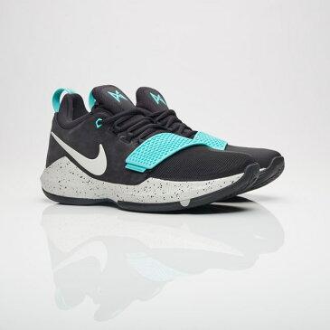送料無料 Men's メンズ 店舗限定 Nike Basketball PG 1 Black/Light Bone/Light Aqua 878627-002 ナイキ バスケットボール ポールジョージ 1 ブラック バッシュ ポール ジョージ スニーカー 靴 おしゃれ かわいい 人気 激安