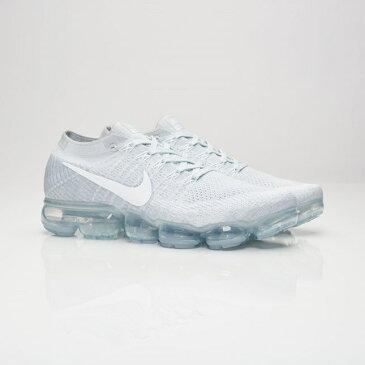送料無料 Men's メンズ 店舗限定 Nike Sportswear Air Vapormax Flyknit Pure Platinum/White/Wolf Grey 849558-004 ナイキ エア ベイパーマックス フライニット ピュアプラチナム ホワイト グレー ストリート 人気 おしゃれ かわいい スニーカー シューズ 靴 ファッション