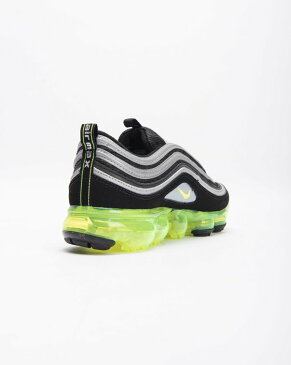 送料無料 Men's メンズ 店舗限定 NIKELAB MEN'S NIKE AIR VAPORMAX 97 BLACK/VOLT-METALLIC SILVER-WHITE AJ7291-001 ナイキラボ ナイキ エア ヴェイパーマックス 97 ブラック イエロー ホワイト 靴 スニーカー アパレル ファッション