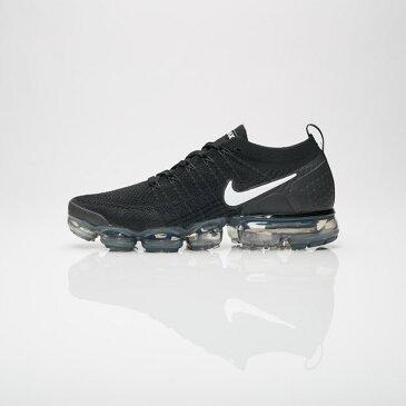 送料無料 Men's メンズ 店舗限定 Nike Sportwear Air Vapormax Flyknit 2 Black/White-Dark Grey-Metallic 942842-001 ナイキ エア ベイパーマックス フライニット ブラック ホワイト ダークグレー メタリック 靴 スニーカー アパレル ファッション