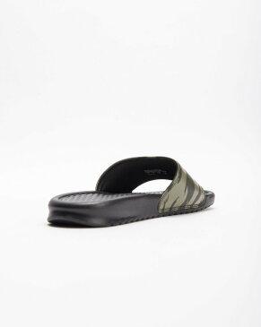 送料無料 Men's メンズ 店舗限定 NIKE BENASSI JDI SEQUOIA/MEDIUM OLIVE-BLACK AQ5060-300 ナイキ べナッシ JDI カモ カモフラージュ オリーブ ブラック サンダル 靴 スニーカー アパレル ファッション