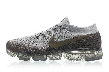 送料無料 Men's メンズ 店舗限定 NikeLab Air Vapormax Flyknit Midnight Fog/Medium Olive/Wolf Grey 899473-009 ナイキラボ エア ヴェイパーマックス フライニット グレー オリーブ シューズ 靴 スニーカー