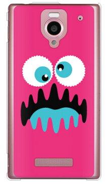 【送料無料】 ワンダーモンスター ピンク (クリア) / for Disney Mobile on SoftBank DM016SH/SoftBank 【YESNO】ソフトバンク dm016sh ケース dm016sh ケース ディズニー dm016sh カバー ディズニーモバイル ケース ソフトバンク ディズニーモバイル