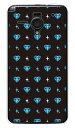 【送料無料】 ダイヤ ブルー (クリア) / for AQUOS PHONE Xx 206SH/SoftBank 【YESNO】【ハードケース】206sh カバー 206sh ケース アクオスフォン 206sh カバー アクオスフォン 206sh ケース aquos phone xx 206sh カバー aquos phone xx