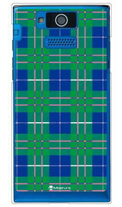 【送料無料】 Tartan check グリーン (クリア) design by Moisture / for DIGNO DUAL 2 WX10K/WILLCOM 【SECOND SKIN】【スマホケース】【ハードケース】digno dual 2 wx10k ケース digno dual 2 ケース digno dual 2 wx10k スマホカバー willcom