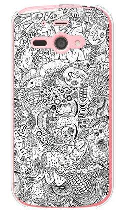 【送料無料】 混沌 (クリア) design by 326 / for AQUOS PHONE es WX04SH/WILLCOM 【SECOND SKIN】【受注生産】【スマホケース】【ハードケース】wx04sh ケース wx04sh カバー AQUOS PHONE es ケース AQUOS PHONE es カバー アクオスフォン es ケース