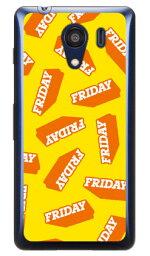 【送料無料】 FRIDAY イエロー (クリア) / for Android One S2・DIGNO G 601KC/Y!mobile・SoftBank 【Coverfull】【スマホケース】【ハードケース】android one s2 ケース android one s2 カバー アンドロイドワンs2 ケース アンドロイドワンs2 androidones2 カバー