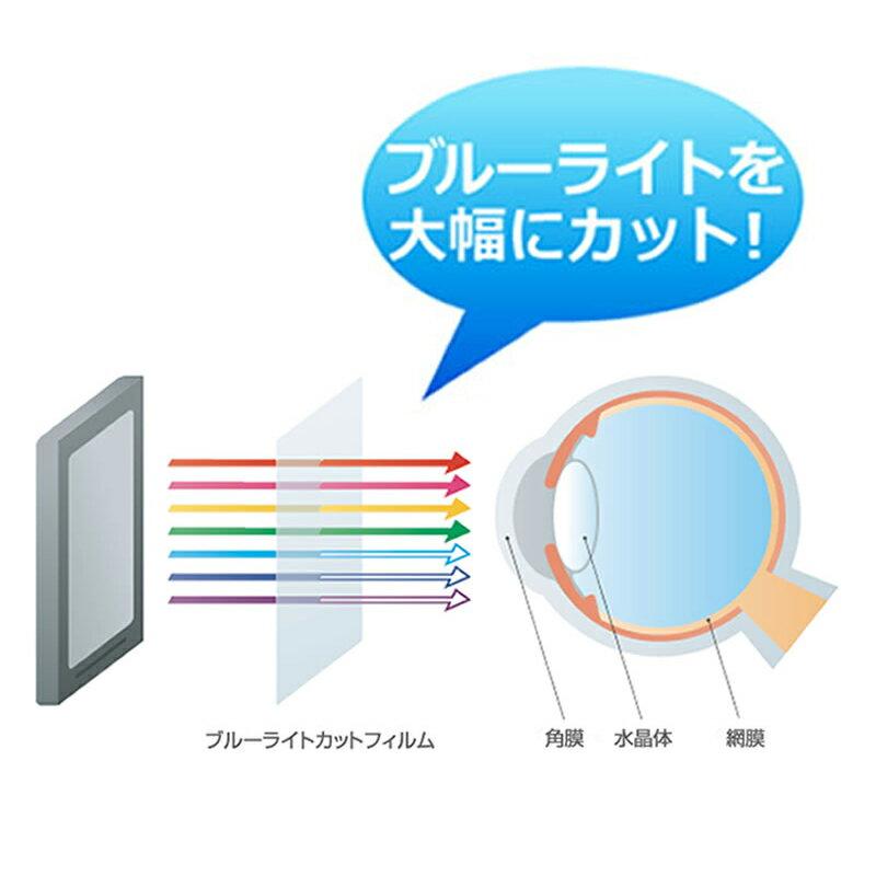 富士通 FMV LIFEBOOK UHシリーズ UH90[14インチ]機種で使える 強化ガラス と 同等の 高硬度9H ブルーライトカット 反射防止 液晶保護フィルム メール便なら